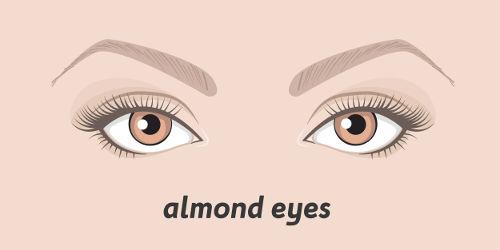 Mandel Augen