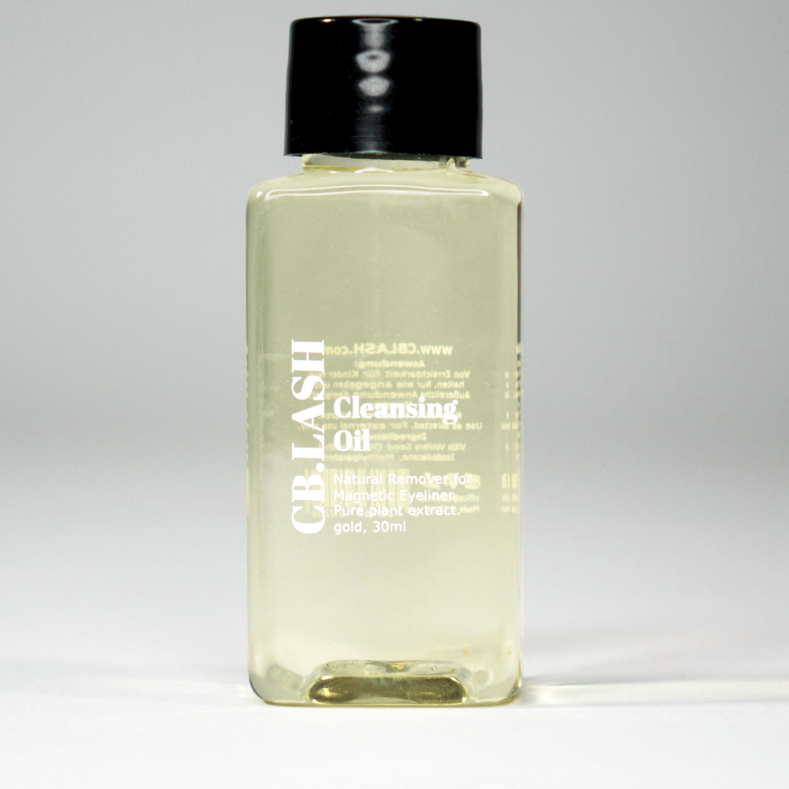 1 Cleanser Reinigungs-Öl speziell zur Entfernung des Magnet-Eyeliners.